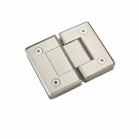 Stainless Steel Shower Hinges Glass to Glass 180 Degree Glass Door Hinge