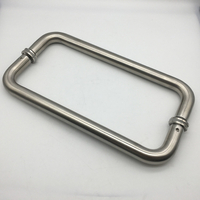 China Wholesale Bathroom Stainless Steel Shower Glass Door Pull Handles
