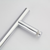 Stainless Steel Single H Type Classic Commercial Antique Wooden Glass Door Handle