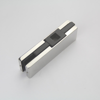 Factory Supplier Aluminum Alloy 7.5mm Glass Door Hinge Pivot Bottom Patch Fitting